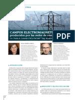 Campos Electromagnéticos producidos por Redes Eléctricas