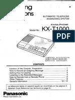 Panasonic KX-T1000.pdf
