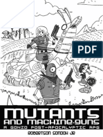 Mutant & Machinegun v3 (Draft)