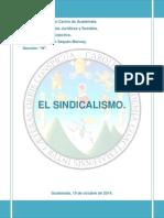 EL SINDICALISMO TRABAJO SEGUNDO PARCIAL.pdf