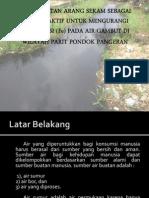 Pemanfaatan Arang Sekam Padi Sebagai Karbon Aktif Untuk