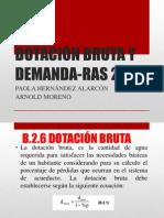 DOTACIÓN BRUTA Y DEMANDA-RAS 2000.pptx