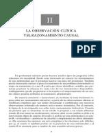 LA OBSERVACION CLINICA y EL RAZONAMIENTO CAUSAL.pdf