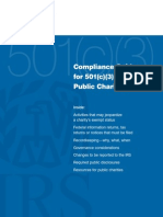 501c3.Guidelines issued by the IRS