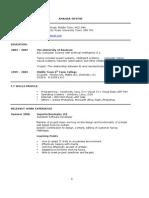 Technical Based CV.doc