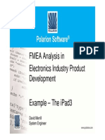 7 David Merrill - Polarion Software - FMEA Analysis in Electronics Industry Product Development