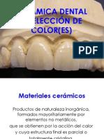 CERÁMICAS DENTALES Y SELECCIÓN DE COLOR.pptx