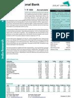 10 PNB Q2FY15 Result Update 22-Oct-14
