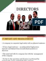Ch 6 Directors