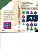 Barthes, Roland - El grado cero de la escritura [escaneado, completo].pdf