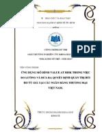 Ứng Dụng Mô Hình Value at Risk Trong Việc Đo Lường Và Đưa Ra Quyết Định Quản Trị Rủi Ro Tỷ Giá Tại Các NHTM Việt Nam