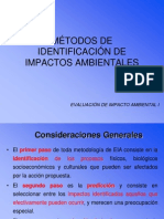 MÉTODOS DE IDENTIFICACIÓN DE IMPACTOS AMBIENTALES.ppt