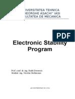 Sistemul ESP Electronic Stability Program