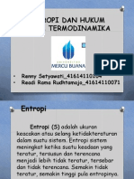 Presentasi2 (Entropi & Hukum Ke2 Termodinamika)