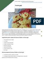 Fursecuri Dukan Cu Fructe Goji - Cartea de Bucate AromateCartea de Bucate Aromate