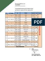 Pembagian Jadwal Foto KTM 2011 - 2012