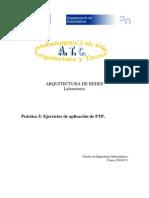 Aplicacion de ftp