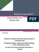 Brand Dna - Understanding Brand Architecture