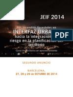 Jornadas Euromediterraneas sobre Incendios Forestales 2014 - 2º anuncio