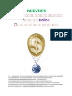 PAIDVERTS အားအက်ိဳးရွိစြာအသံုးျပဳၿပီး Online ၀င္ေငြရွာေဖြျခင္း.docx