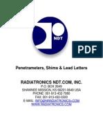 Pentrmeter Specification