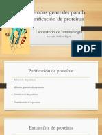 Métodos generales para la purificación de proteínas.pptx