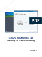 Samsung SSD Data Migration User Manual (German) v1.0