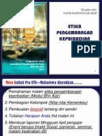 Bhn Tayang TM 1 Etika Kepribadian STAN_2014