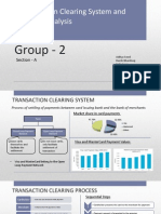 Project Transaction Clearing System
