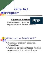 Trade Act Oregon