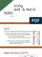 Interfacing of Micro Processor & Micro Controller