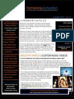Partnership Activation 2.0 - December 2009 Newsletter