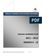 ADEC Support Document English Learning Plan