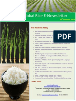24th October,2014 Daily Global Rice E-Newsletter Shared by Riceplus Magazine