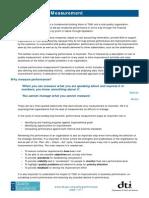 Performance Measurement & Management