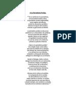 A La Periodísta Prolija.