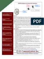 Gprs Analyzer Brochure