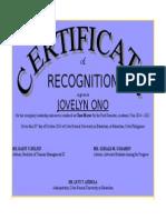 open office - certificate
