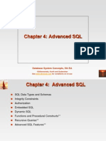 Chapter 4 Advanced SQL