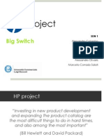 HP Project - Software Defined Network TCO