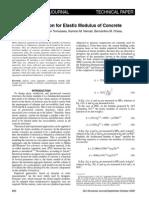 A Practical Equation for Elastic Modulus of Concrete-libre