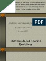 Teorías evolutivas