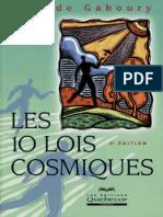 Les 10 Lois Cosmiques - Placide Gaboury.pdf