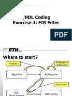 VHD FIR Filter