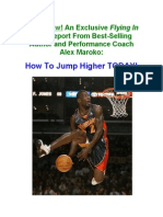 How to Jump Higher Exclusive Report