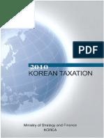 Korean Taxation 2010