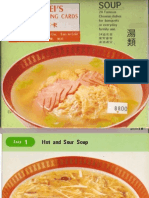 Pei Mei's Chinese Cooking Cards _ Soup
