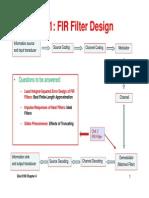 Elec3100 2014 Ch4 Filter Design