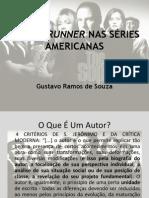 O SHOWRUNNER NAS SÉRIES AMERICANAS.pptx