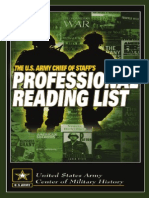 Military Reading List